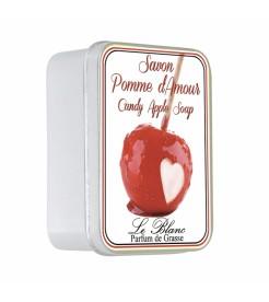 Мыло в жестяной коробочке Яблоко в карамели 100 г  Le Blanc
