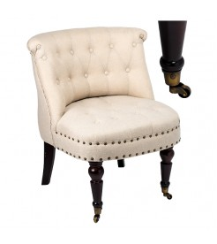 Кресло на колесиках Ампир