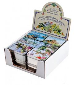 Мыло ассорти в жестяной коробочке Провинция Le Blanc 12 х 100 гр