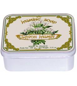 Мыло в жестяной коробочке Жасмин 100 г  Le Blanc