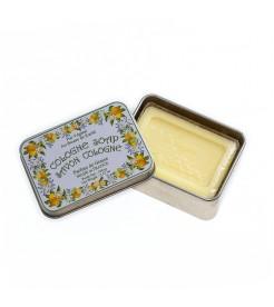 Мыло в жестяной коробочке Цитрусовый 100 г  Le Blanc