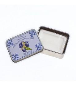 Мыло в жестяной коробочке Ирис 100 г  Le Blanc