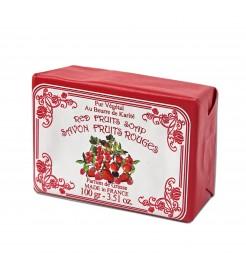 Набор мыла  Красные ягоды  Le Blanc 12 шт х 100 гр