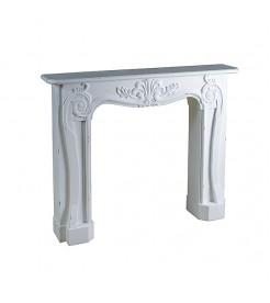 Портал для камина белый Витториано