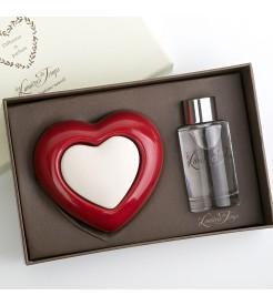 Бергамот набор с керамическим сердцем  Les Lumieres du Temps