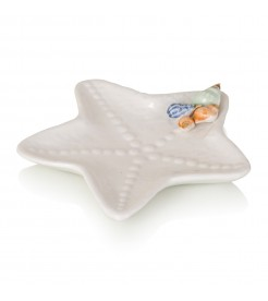 Блюдо декоративное в виде морской звезды