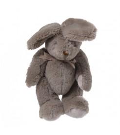 Кролик плюшевый коричневый 19 см