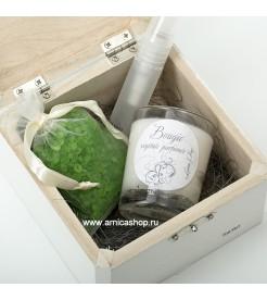 Подарочный мини набор Зеленый чай  Les Lumieres du Temps