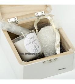 Подарочный мини набор  Белый мускус Les Lumieres du Temps