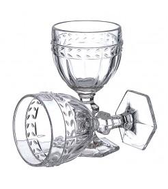 Бокалы для вина Колосок прозрачный 4 штуки