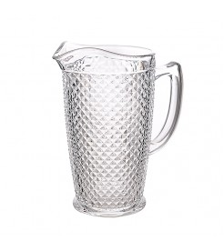 """Кувшин для воды стеклянный """"Ромб"""""""