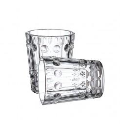 Стакан для воды прозрачный (6 штук)