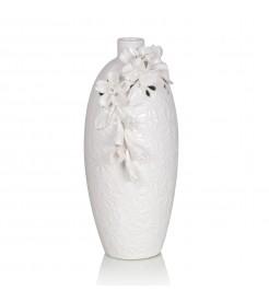 Ваза керамическая  белая