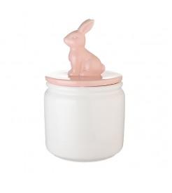 """Банка для сыпучих """"Розовый кролик"""" L"""