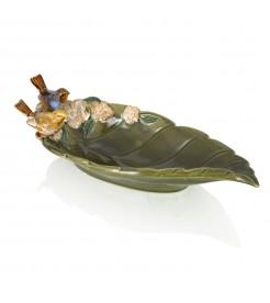 Блюдо  декоративное керамическое