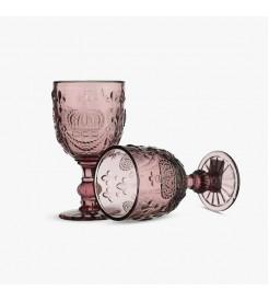 Бокалы для вина Королевские розовые  (6 штук)