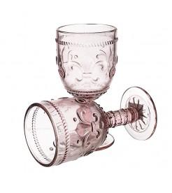 Бокалы для вина Лилия розовая  6 штук